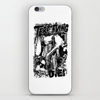 horror iPhone & iPod Skins featuring Horror by HEADBANGPARTY