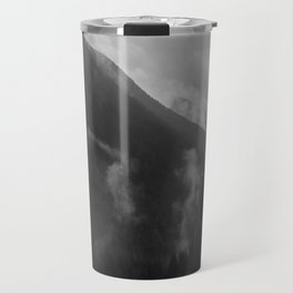 North Cascades B&W 2 Travel Mug