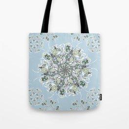 Tattoo Snowflake Tote Bag