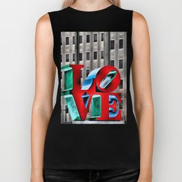 Love from Philly Biker Tank