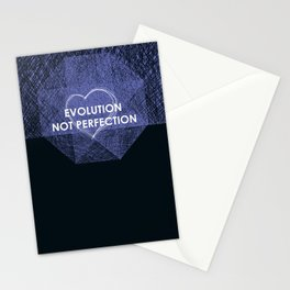 An inspirational quote Stationery Cards