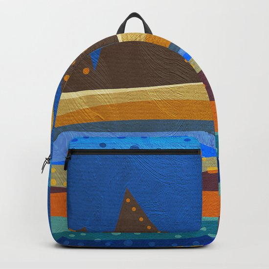 Textures/Abstract 143 Backpack