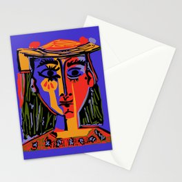 Picasso - Woman's head #4b Stationery Cards