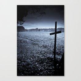 A Cross the Field Canvas Print