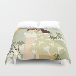 Love Conquers All Duvet Cover