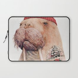 Tattooed walrus Laptop Sleeve
