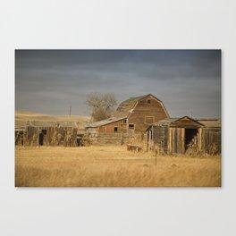 Crossing Montana Canvas Print