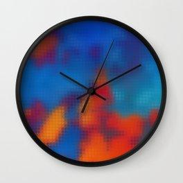 Digital Clouds MMXVIII-2B Wall Clock