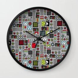 Robot Controls Wall Clock