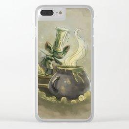 Goblins Drool, Fairies Rule! - Earwax Stew Clear iPhone Case