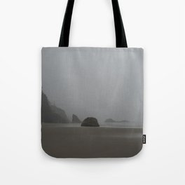 Barren Coast in Cannon Beach Tote Bag