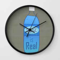 Thirst (is Real) Wall Clock