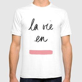 La Vie en Rose x Telma W. T-shirt