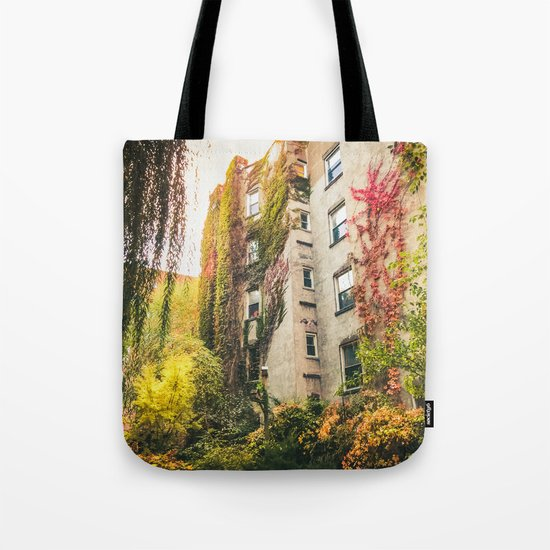 Autumn - New York City - East Village Garden Tote Bag