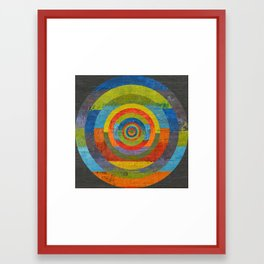 Full Circle Framed Art Print