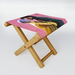 Singin' in the Rain - Pink Folding Stool