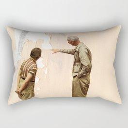 Watching Paint Dry Rectangular Pillow