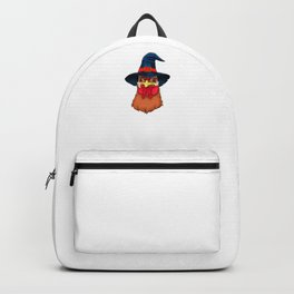 Witch Chicken, It's Show Time Funny Halloween Horror Scary Backpack