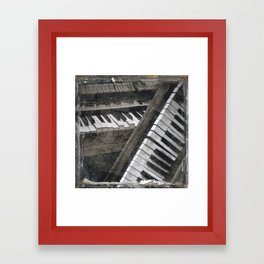 The Great Piano Duel Framed Art Print