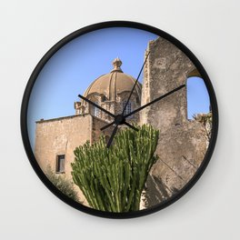 Island And Castle Wall Clock