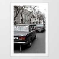 ukraine Art Prints featuring Odessa Ukraine by Sanchez Grande
