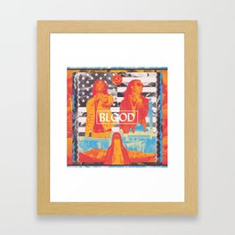 The Universe In 6 Jumps Framed Art Print