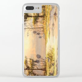 Southern States Sunrise Clear iPhone Case