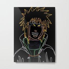 Neon Minato Metal Print