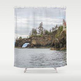 Halibut Cove, Alaska Shower Curtain