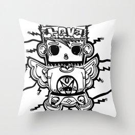 Spell bound Throw Pillow
