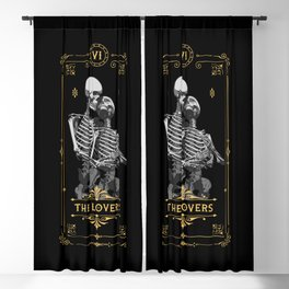 The Lovers VI Tarot Card Blackout Curtain