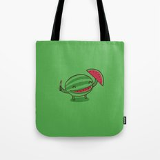 Happy slice of life Tote Bag