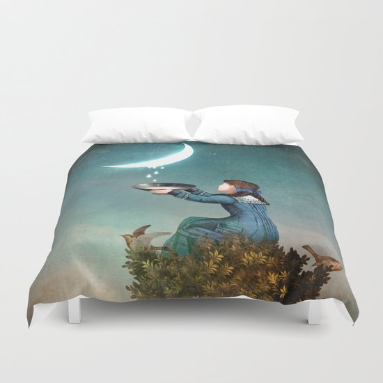 Moondrops Duvet Cover