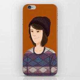 Tegan and Sara: Tegan portrait #3 iPhone Skin