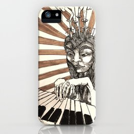 Player Piano iPhone Case