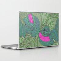 daft punk Laptop & iPad Skins featuring Daft Punk by Thor