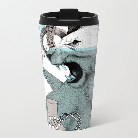 Genetics Metal Travel Mug