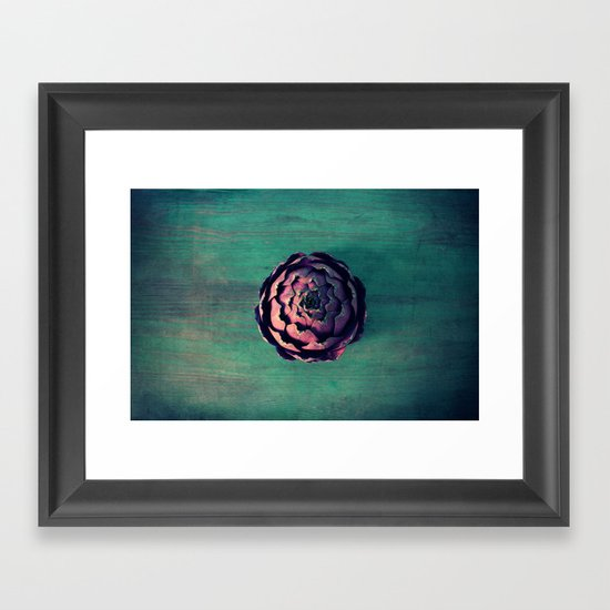 carciofo Framed Art Print