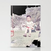 dad Stationery Cards featuring Dad by Hector Wong
