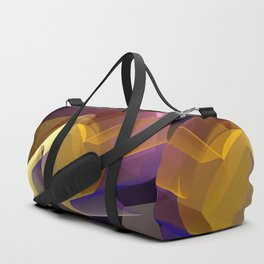 Modern colourful abstract with optical effects Duffle Bag