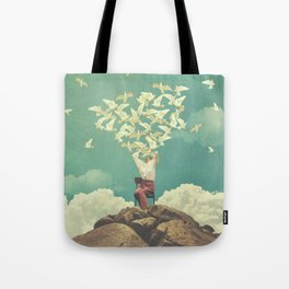 Pigeon Composer Tote Bag