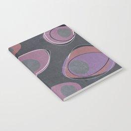 Mod Egg Charcoal Notebook