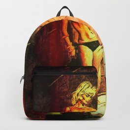 Night is on Fire Backpack