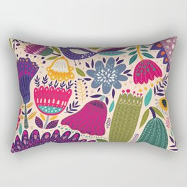 spring time Rectangular Pillow