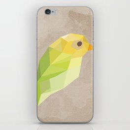 Green Canary iPhone Skin