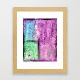 Abstract Window Framed Art Print