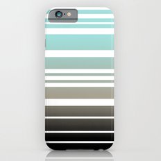 Bay Ombre Stripe: Dusty Morning iPhone 6 Slim Case