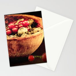 Berry mixed Stationery Cards