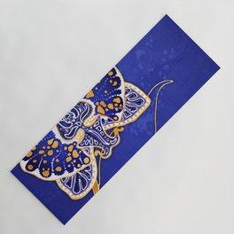 Egyptian Blue :: Orchid Yoga Mat