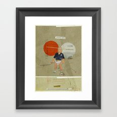 Jukebox Hero | Collage Framed Art Print